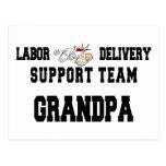 Neuer Grandbaby neuer Großvater Postkarten