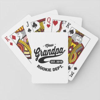 Neuer Großvater 2016 Spielkarten