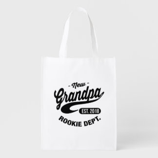 Neuer Großvater 2018 Wiederverwendbare Einkaufstasche