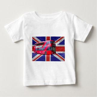 Neuer London-Rot-Bus Baby T-shirt