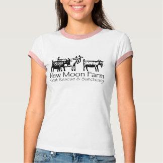 Neuer Mond-Bauernhof-Wecker T-Shirt