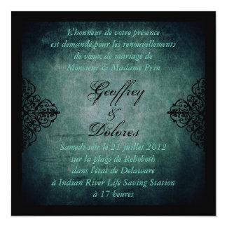 Neuer Mond-Hochzeit laden Square_Dolores ein Quadratische 13,3 Cm Einladungskarte
