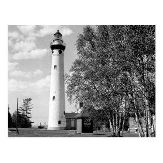 Neuer Presque Insel-Leuchtturm Postkarte