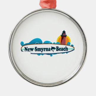 Neuer Smyrna Strand Silbernes Ornament