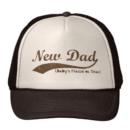 Neuer Vati-Hut, der personalisierte Name des Babys Trucker Cap