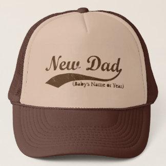 Neuer Vati-Hut, personalisierter s-Name oder Jahr Truckerkappe