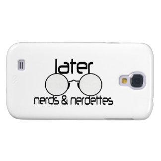 Neuere Nerds u. Nerdettes Schauspiel-Brillen Galaxy S4 Hülle