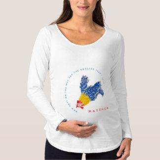 Neues Baby auf der Mutterschaft S des Weise Schwangerschafts T-Shirt