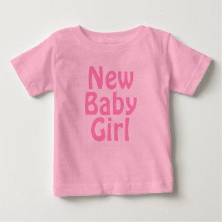 Neues Baby. Hübsches Rosa. Gewohnheit Baby T-shirt