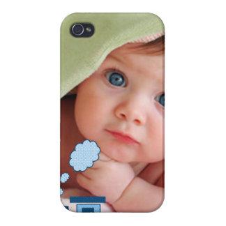 Neues Baby Ihre Foto Choo Choo Zug iPhone iPhone 4/4S Cover