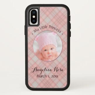 Neues Baby-Mädchen meine kleine Prinzessin Pink iPhone X Hülle
