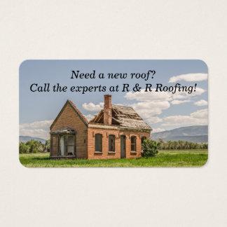 Neues Dach benötigt auf reizendem Ziegelstein-Haus Visitenkarte