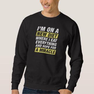 Neues Diät-Wunder Sweatshirt