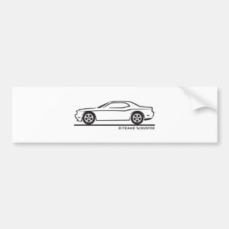 Neues Dodge-Ladegerät Autoaufkleber