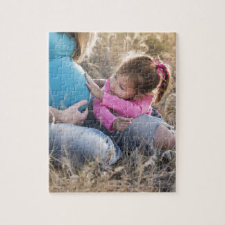Neues Familien-Baby Puzzle