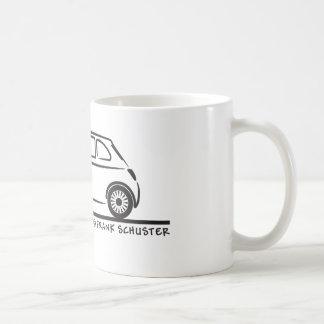Neues Fiat 500 Cinquecento Kaffeetasse