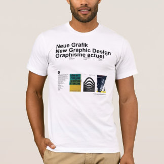 Neues Grafikdesign T-Shirt