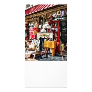 Neues Hoffnung PA-Antiquitätengeschäft Photo Karten Vorlage