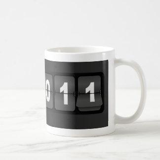 Neues Jahr 2011 Kaffeetasse