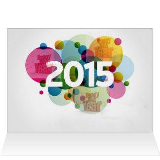 Neues Jahr-Bild 2015 Karte