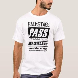 Neues Jahr-Bühne hinter dem Vorhang DURCHLAUF T-Shirt