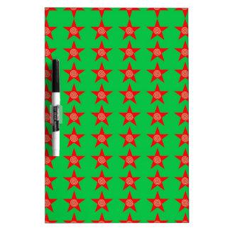 Neues Jahr der Feiertags-Weihnachtsbänder rote Memoboard