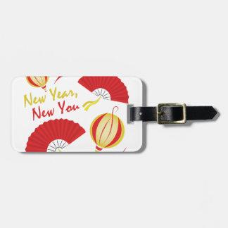 Neues Jahr Gepäckanhänger