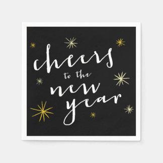 Neues Jahr jubelt Serviette
