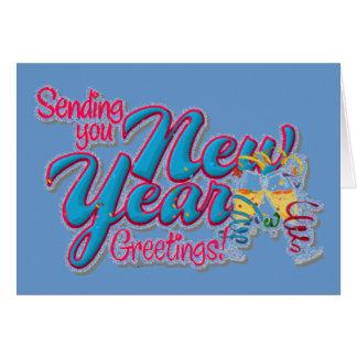 Neues Jahr-Karte