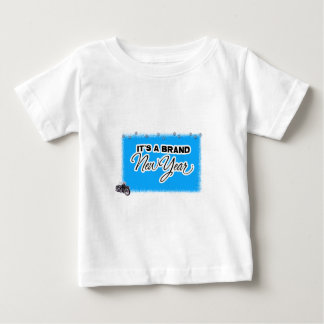 neues Jahr motercycle Baby T-shirt