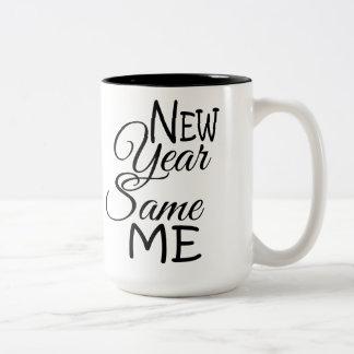 Neues Jahr selben ich Tasse