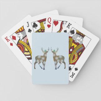 Neues Jahr-Stimmungs-klassische Spielkarten