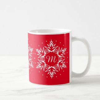 Neues Jahr-zuerstschneeflocke Kaffeetasse