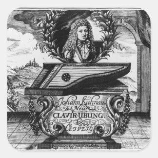 Neues Klavier üben, 1689 Quadratsticker