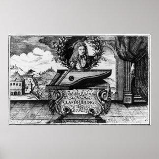 Neues Klavier üben, 1689 Plakat