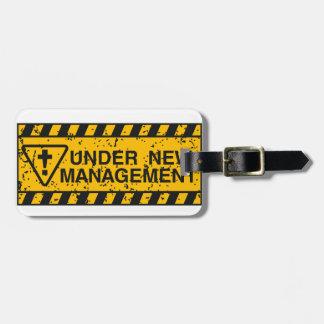 neues Management Gepäckanhänger