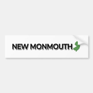 Neues Monmouth, New-Jersey Autoaufkleber