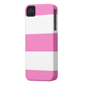Neues niedliches rosa u. weißes Case-Mate iPhone 4 hülle