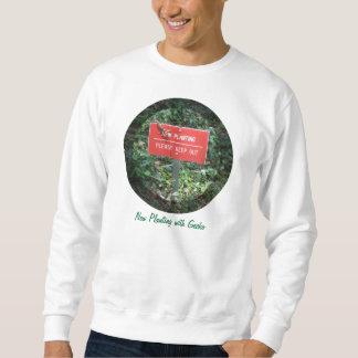 Neues Pflanzen mit Gecko-Sweatshirt Sweatshirt