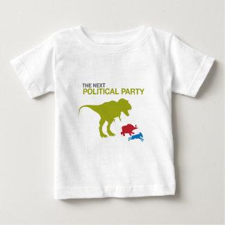 Neues politisches Party Baby T-shirt