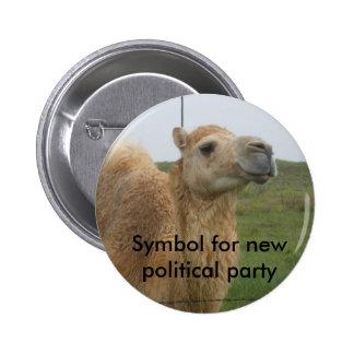 Neues politisches Party Runder Button 5,7 Cm