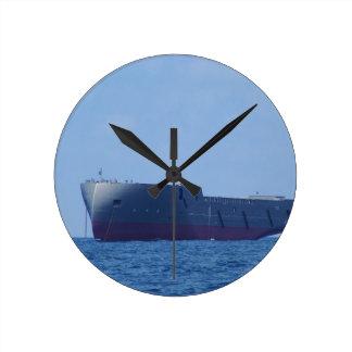 Neues Schiff Runde Wanduhr