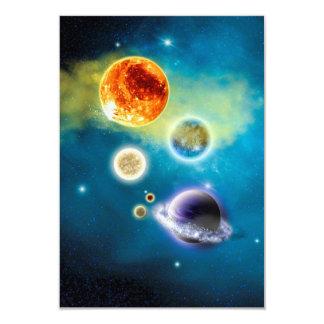 Neues Sonnensystem Karte