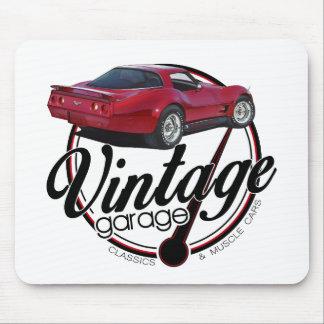neues Vintages Garage vette Mousepad