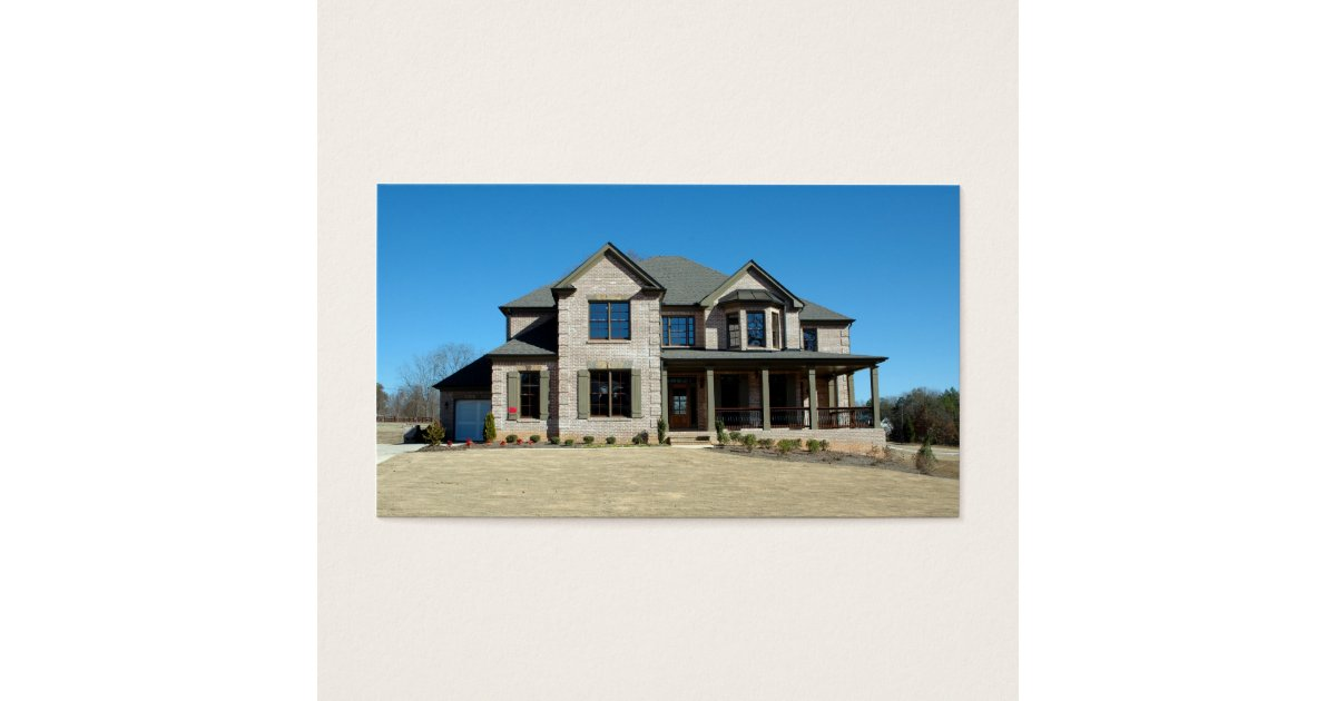 neues zuhause f r verkauf visitenkarte zazzle. Black Bedroom Furniture Sets. Home Design Ideas