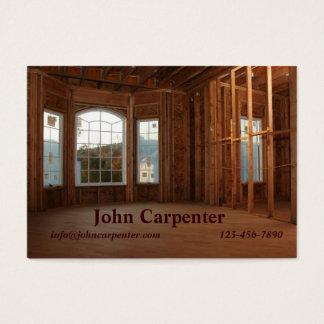 Neues Zuhause im Bau Visitenkarte