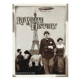 Neufassungs-Geschichtspostkarte Postkarte