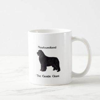 Neufundland-Hund der leichte Riese Kaffeetasse