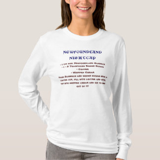 Neufundland-Nachthauben-Rezept - T-Shirt