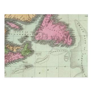 Neufundland Neuschottland und New-Brunswick Postkarte